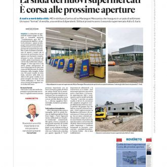 Articolo Trentino progetto MD